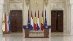 Declarație de presă susținută de Președintele României, Klaus Iohannis, și Prim-ministrului Regatului Țărilor de Jos, Mark Rutte