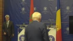 Declarații de presă susținute de Ministrul Afacerilor Externe al României, Teodor Meleșcanu, și de Ministrul Afacerilor Externe și al Cooperării Internaționale din Maroc, Nasser Bourita