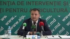 Conferință de presă despre derularea Programului de subvenționare în avans a tinerilor și femeilor fermieri