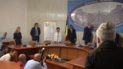Declarații de presă susținute de Ministrul Agriculturii și Dezvoltării Regionale al României, Petre Daea, și comisarul European pentru Agricultură și Dezvoltare Rurală, Phil Hogan