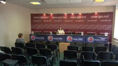"""Conferința de presă cu tema """"Abuzurile legate de privarea de libertate a omului de afaceri Eșanu Valentin"""""""