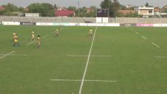Meciul de Rugby între Timișoara Saracens - CSM Știința Baia Mare. SuperLiga CEC BANK 2018-2019