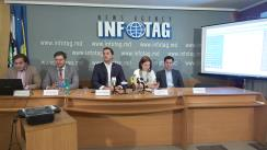 """Conferința de presă organizată de Centrul Analitic Independent """"Expert-Grup"""" cu tema """"Realitatea Economică, septembrie 2018 - radiografia trimestrială a economiei moldovenești"""""""