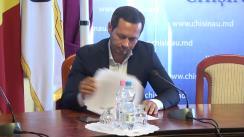 Declarații după ședința săptămânală a serviciilor primariei Chișinău din 17 septembrie 2018