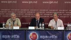 Briefing de presă privind organizarea unei Adunări consultative a cetățenilor și partidelor politice care pledează pentru Reunirea Republicii Moldova cu România