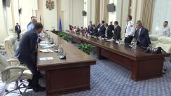 Ședința Comisiei pentru Situații Excepționale, în legătură cu situația complicată privind pesta porcină africană