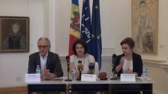 Conferință de presă susținută de ministrul Educației, Culturii și Cercetării, Monica Babuc, cu privire la Zilele Europene ale Patrimoniului