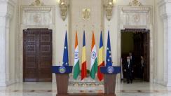 Declarația de presă comună a Președintelui României, Klaus Iohannis, cu Vicepreședintele Republicii India, M Venkaiah Naidu