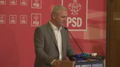 Declarațiile lui Liviu Dragnea după ședința CEx a Partidului Social Democrat din 21 septembrie 2018