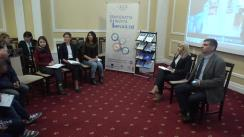 """HuB Electoral 2.0 cu tema """"Bariere și oportunități de incluziune în procesul electoral"""""""