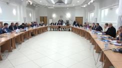 """Masa rotundă organizată de Filiala din Chișinău a IIMDD AIP CSI cu genericul """"Internetul și campania electorală"""""""