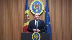 Declarațiile lui Iurie Ușurelu după ședința Guvernului Republicii Moldova din 24 septembrie 2018