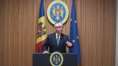 Declarațiile lui Boris Gîlca după ședința Guvernului Republicii Moldova din 24 septembrie 2018