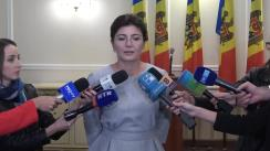 Declarațiile Silviei Radu după învestirea în funcția de ministru al Sănătății, Muncii și Protecției Sociale