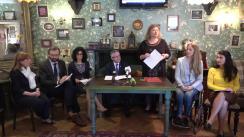 """Club de presă organizat de Centrul de Investigații Jurnalistice la tema """"Cât de adaptate sunt maternitățile din Republica Moldova la necesitățile femeilor cu dizabilități locomotorii?"""""""