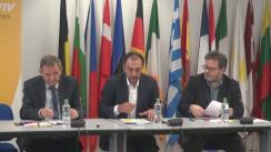 """Dezbaterea organizată de EurActiv România cu tema """"Alegerile europarlamentare 2019: Europa, încotro?"""""""