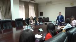 """Ședința Clubului de presă al Guvernului cu tema """"Reforma pensiilor. 1 octombrie - ultima etapă de valorizare"""""""