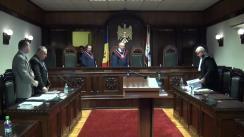 Ședința Curții Constituționale: Revizuirea hotărârilor judecătorești în procesul penal
