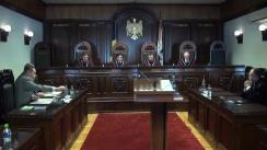 """Ședința Curții Constituționale: """"Urmările grave"""" ale faptelor penale comise de către persoanele publice"""