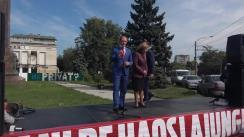 Prezentarea candidatului din partea Partidului Socialiștilor din Republica Moldova pentru circumscripția eletorală nr. 25 (Chișinău, sectorul Centru – Botanica)
