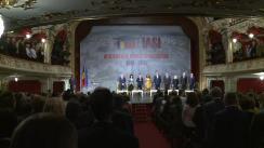 Președintele României, Klaus Iohannis, participă la deschiderea anului universitar 2018-2019