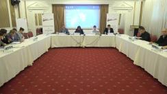 """Masa rotundă organzată de Asociația Promo-LEX cu tema """"Percepția cetățenilor față de instrumentele tehnologiei informației în perspectiva implementării votului prin Internet"""""""