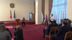 Semnarea contractului de vânzare-cumpărare a acțiunilor nou-emise de banca de importanță sistemică Moldova-AgroindBank S.A. între Guvernul Republicii Moldova și Consorțiumul internațional de investitori (BERD, Invalda INVL, Horizon Capital)