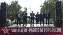 Prezentarea candidatului din partea Partidului Socialiștilor din Republica Moldova pentru circumscripția electorală nr. 30 (Chișinău, sectorul Ciocana)