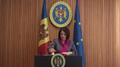 Declarațiile Monicăi Babuc după ședința Guvernului Republicii Moldova din 3 octombrie 2018