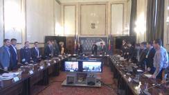 Ședința Comisiei tehnice centrale pentru coordonarea activităților de organizare a referendumului național pentru revizuirea Constituției din zilele de 6 și 7 octombrie 2018