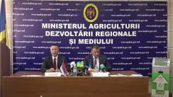Conferință de presă organizată de Ministerul Agriculturii, Dezvoltării Regionale și Mediului despre responsabilitățile extinse ale producătorilor privind deșeurile electrice și electronice, în conformitate cu Legea privind deșeurile