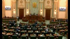 Ședința în plen a Senatului României din 8 octombrie 2018