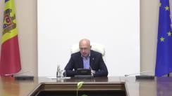 Ședința Comisiei pentru Situații Exceptionale în legătură cu explozia din sectorul Râșcani al capitalei
