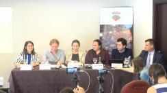 """Conferință de presă organizată de Greenpeace Romania, Declic, MiningWatch și Alburnus Maior, organizații neguvernamentale active în campania """"Salvați Roșia Montană"""" privind intervenția societății civile în procesul de arbitraj deschis de Gabriel Resources împotriva statului român"""