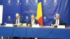 Briefing de presă pe tema procesului de pregătire pentru exercitarea Președinției României la Consiliul Uniunii Europene