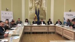Evenimentul de lansare a serviciului de mediere în instanțele de judecată, parte componentă a proiectului în domeniul medierii comerciale și arbitraj