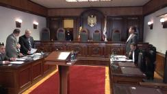 Ședința Curții Constituționale: dreptul la vot al persoanelor cu dizabilități de ordin mintal