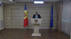 Declarațiile lui Mihai Ghimpu în timpul ședinței Parlamentului Republicii Moldova din 11 octombrie 2018