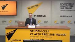 """Briefing de presă susținut de cunoscutul expert în finanțe și analistul Vadim Iosub care reprezintă cel mai mare forex broker din Moldova și CSI """"Alpari"""" cu tema """"Războaiele economice: Ce se va întâmpla cu leul moldovenesc și valutele internaționale"""""""