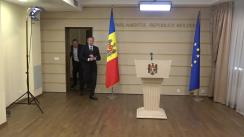 Declarațiile lui Andrian Candu în timpul ședinței Parlamentului Republicii Moldova din 12 octombrie 2018