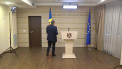 Declarațiile lui Mihai Ghimpu în timpul ședinței Parlamentului Republicii Moldova din 12 octombrie 2018