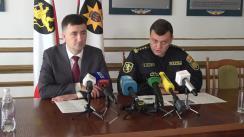 Conferință de presă organizată de Procuratura municipiului Chișinău și Direcția de Poliție a municipiului Chișinău privind cazul minorei, răpite acum câteva zile, în sectorul Ciocana