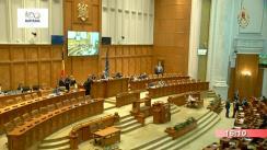 Ședința în plen a Camerei Deputaților României din 15 octombrie 2018