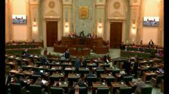 Ședința în plen a Senatului României din 15 octombrie 2018