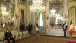 Declarație de presă comună a Președintelui României, Klaus Iohannis, și Președintele Italiei, Sergio Mattarella