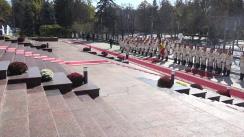 Ceremonia oficială de întâmpinare a Președintelui Republicii Turcia, Recep Tayyip Erdoğan, și a doamnei Emine Erdoğan, de către Președintele Republicii Moldova, Igor Dodon