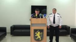 Briefing de presă cu privire la măsurile de asigurare a ordinii și securității publice, restricții de acces precum și dirijarea traficului rutier pe durata vizitei oficiale a Președintelui Turciei în Republica Moldova
