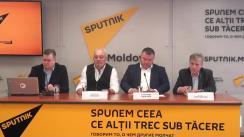"""Conferință de presă cu tema """"Noi proiecte inovaționale pentru Chișinău"""""""
