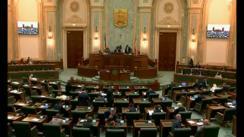 Ședința în plen a Senatului României din 16 octombrie 2018
