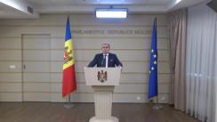 Declarațiile lui Mihai Ghimpu în timpul ședinței Parlamentului Republicii Moldova din 18 octombrie 2018